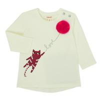 Clothing Girl Long sleeved tee-shirts Catimini CR10063-11 Pink