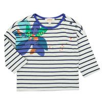 Clothing Girl Long sleeved tee-shirts Catimini CR10123-12 Multicolour