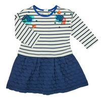 Clothing Girl Short Dresses Catimini CR30133-12 Multicolour