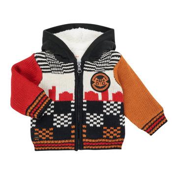 Clothing Boy Jackets / Cardigans Catimini CR18062-17 Multicolour