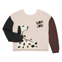 Clothing Girl Jumpers Catimini CR18115-34-J Multicolour