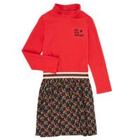 Clothing Girl Short Dresses Catimini CR30035-38-C Multicolour