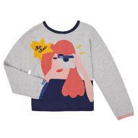 Clothing Girl Jackets / Cardigans Catimini CR18055-21-C Multicolour
