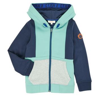 Clothing Boy Jackets / Cardigans Catimini CR17044-51-C Blue