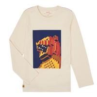 Clothing Boy Long sleeved tee-shirts Catimini CR10064-17-C White