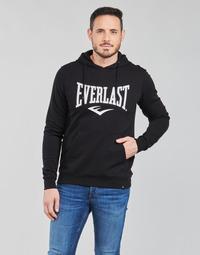 Clothing Men Sweaters Everlast BASIC-HOODED-TAYLOR Black