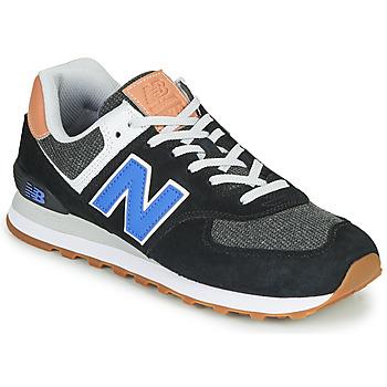 Shoes Men Low top trainers New Balance 574 Black / Blue