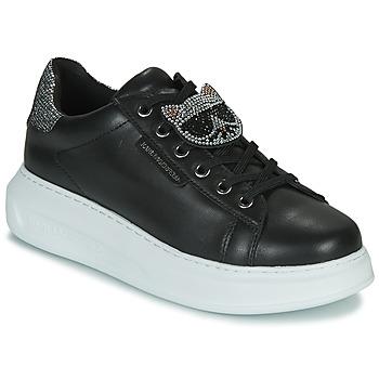 Shoes Women Low top trainers Karl Lagerfeld KAPRI IKONIC TWIN LO LACE Black