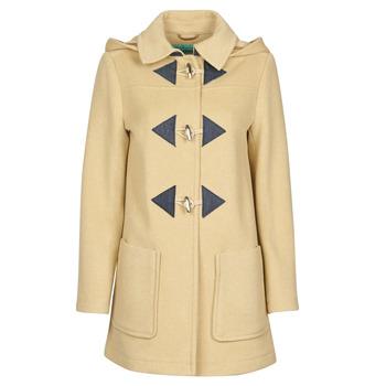 Clothing Women Coats Benetton 2BZP53655 Beige
