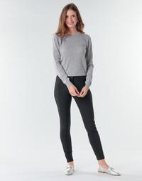 Clothing Women Wide leg / Harem trousers Benetton 4SK755944 Black
