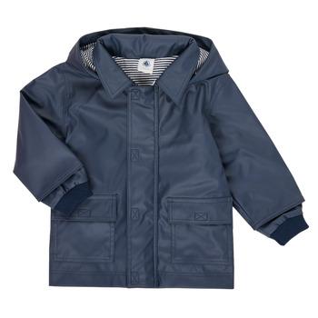 Clothing Children Parkas Petit Bateau FETE Marine