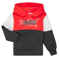 Clothing Boy Sweaters Puma ALPHA HOODY Multicolour