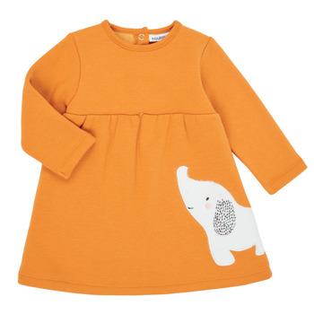 Clothing Girl Short Dresses Noukie's Z050083 Orange