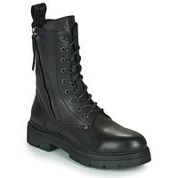 Shoes Women Mid boots Replay PAMELA STANDING Black