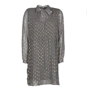 Clothing Women Short Dresses Le Temps des Cerises CHANI Grey
