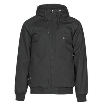 Clothing Men Jackets Volcom HERNAN 5K JACKET Black