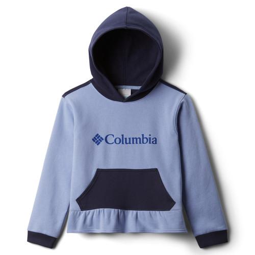 Clothing Girl Sweaters Columbia COLUMBIA PARK HOODIE Blue