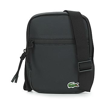 Bags Men Pouches / Clutches Lacoste LCST SMALL Black