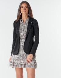 Clothing Women Jackets / Blazers Les Petites Bombes ANNE Black