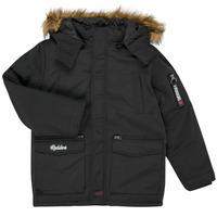 Clothing Boy Parkas Redskins REF-48105 Black