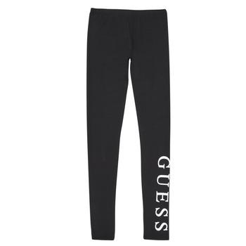 Clothing Girl Leggings Guess J94B16-K82K0-JBLK Black
