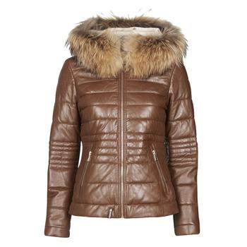 Clothing Women Duffel coats Oakwood JELLY Cognac