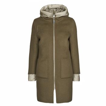 Clothing Women Coats Oakwood LILIANA BI Kaki / Beige / Taupe
