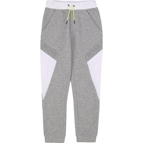 Clothing Boy Tracksuit bottoms BOSS J24664 Grey