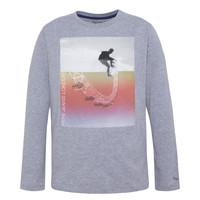 Clothing Boy Long sleeved tee-shirts Pepe jeans EDGAR Grey
