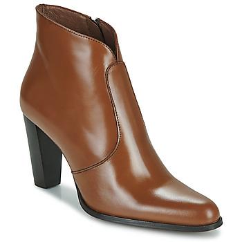 Shoes Women Ankle boots Muratti Abril Cognac