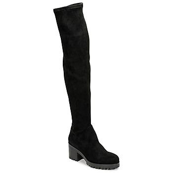 Shoes Women Thigh boots Sweet Lemon POLYCA Black