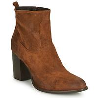 Shoes Women Ankle boots Sweet Lemon IDIA Cognac