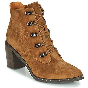 Shoes Women Ankle boots Mam'Zelle NECLA Camel