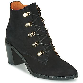 Shoes Women Ankle boots Mam'Zelle NECLA Black