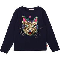 Clothing Girl Long sleeved tee-shirts Billieblush / Billybandit U15805 Blue