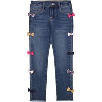 Clothing Girl Slim jeans Billieblush / Billybandit U14406 Blue