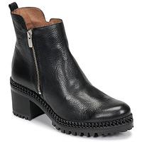 Shoes Women Ankle boots Wonders H3924-VACHETA-NEGRO Black