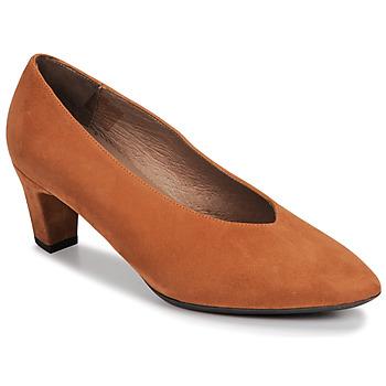 Shoes Women Heels Wonders I8401-ANTE-CAMEL Camel