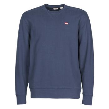 Clothing Men Sweaters Levi's NEW ORIGINAL CREW Blue