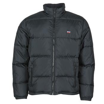 Clothing Men Duffel coats Levi's FILLMORE SHORT JACKET Jet /  black