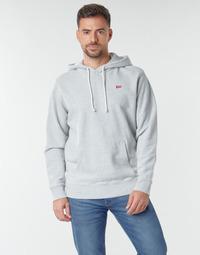 Clothing Men Sweaters Levi's NEW ORIGINAL HOODIE Granite / Heather