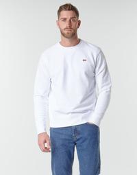 Clothing Men Sweaters Levi's NEW ORIGINAL CREW White