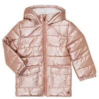 Clothing Girl Duffel coats Carrément Beau Y16085 Pink