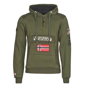 Clothing Men Sweaters Geographical Norway GYMCLASS Kaki