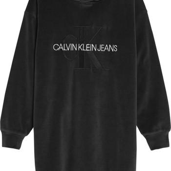 Clothing Girl Short Dresses Calvin Klein Jeans IG0IG00711-BEH Black