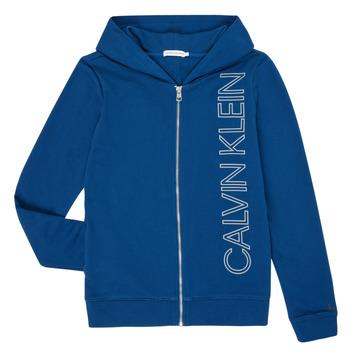 Clothing Boy Sweaters Calvin Klein Jeans IB0IB00668-C5G Blue