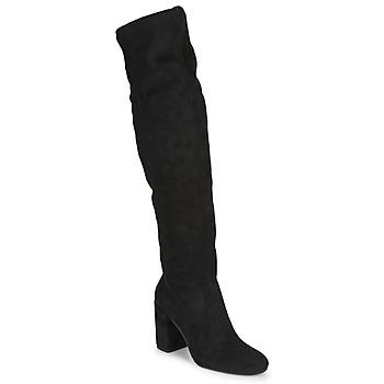 Shoes Women Thigh boots Jonak MILO Black