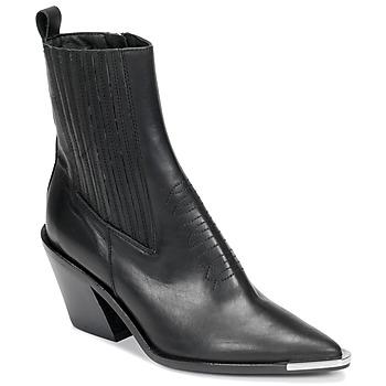 Shoes Women Ankle boots Jonak BINGO Black