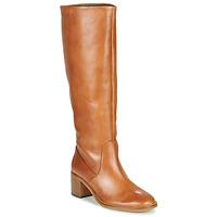 Shoes Women High boots Jonak MAMELI Camel