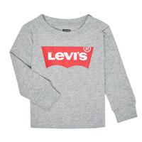Clothing Boy Long sleeved tee-shirts Levi's BATWING TEE LS Grey